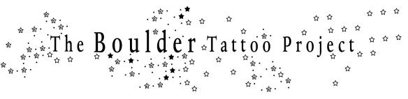 Boulder Tattoo Project logo